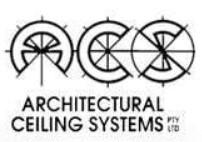 Metal Pan and Coruline Architectural Metal Ceilings